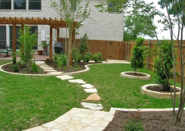 Inexpensive Backyard Landscaping Ideas 100 landscaping ideas for front yards and backyards - planted well