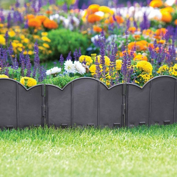 Cheap Gardening Ideas: 37 Creative Lawn And Garden Edging Ideas With Images