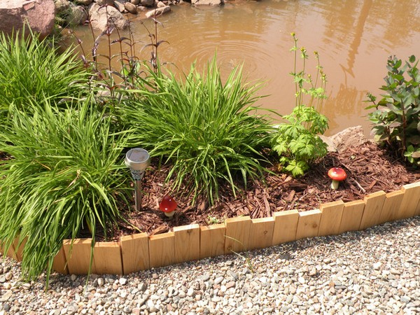 9 amazing affordable landscape edging ideas for Cheap easy landscape edging