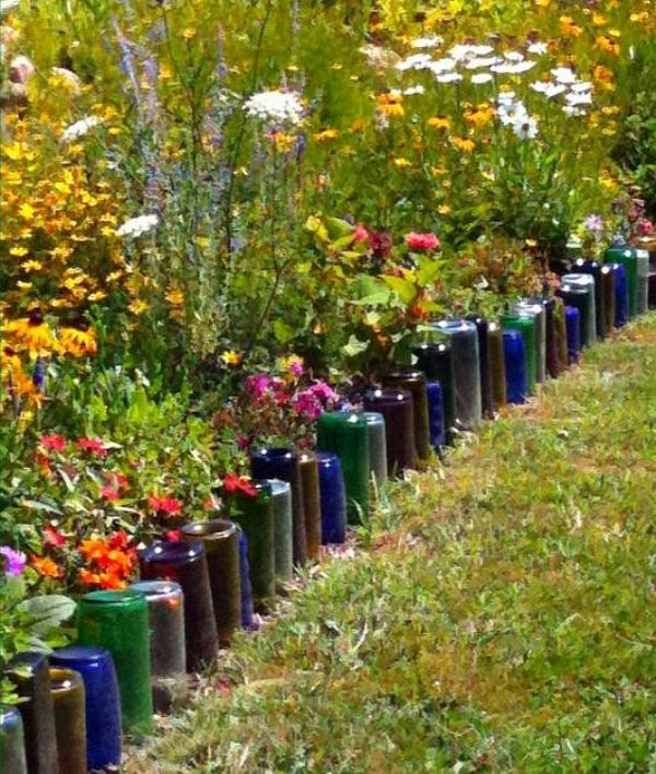 Flower Garden Ideas Around Tree 37 creative lawn and garden edging ideas with images - planted well