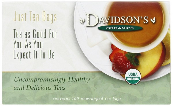 Davidson'S Tea Hibiscus Flower Tea Bags