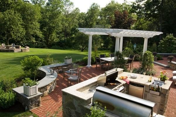 Elegant Backyard Garden Ideas