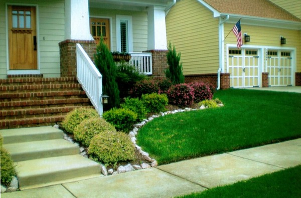 small front yard landscape design pictures landscaping ideas for house ranch style homes