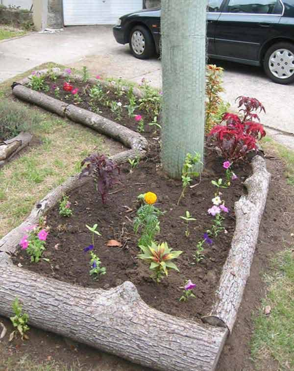 37 creative lawn and garden edging ideas with images Low maintenance garden border ideas