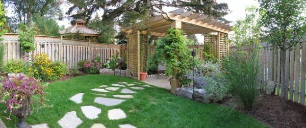 Backyard Pathways 100 landscaping ideas for front yards and backyards - planted well