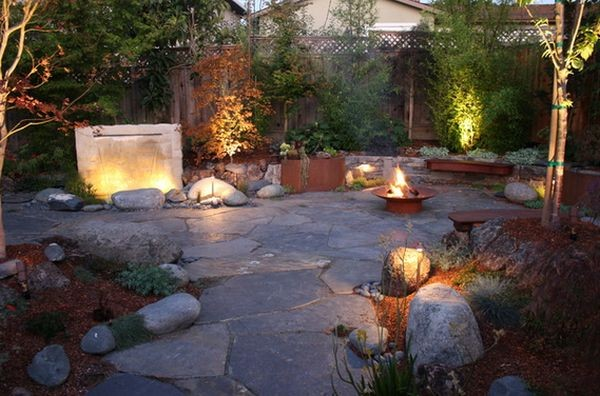 100 landscaping ideas for front yards and backyards for Great outdoor patio ideas