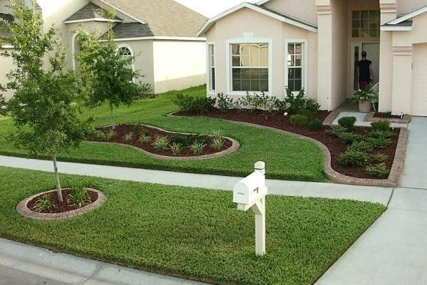 100 Landscaping Ideas for Front Yards and Backyards - Planted Well