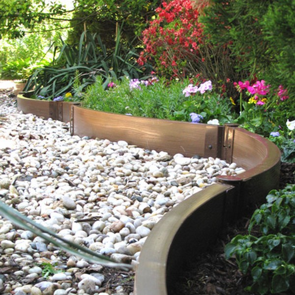 Cheap Landscaping Stones 37 creative lawn and garden edging ideas with images - planted well