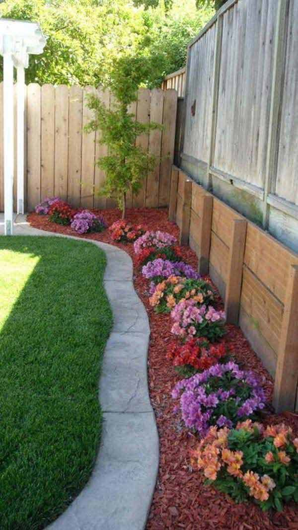 Ideas For Landscaping Around Your House : Creative lawn and garden edging ideas with images
