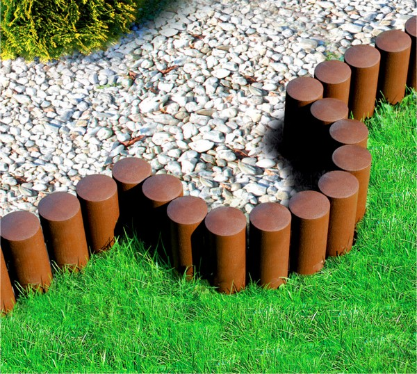 Palisade Garden Edging Ideas