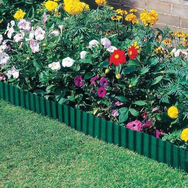 Plastic Edging Can Define The Border Of Your Garden.