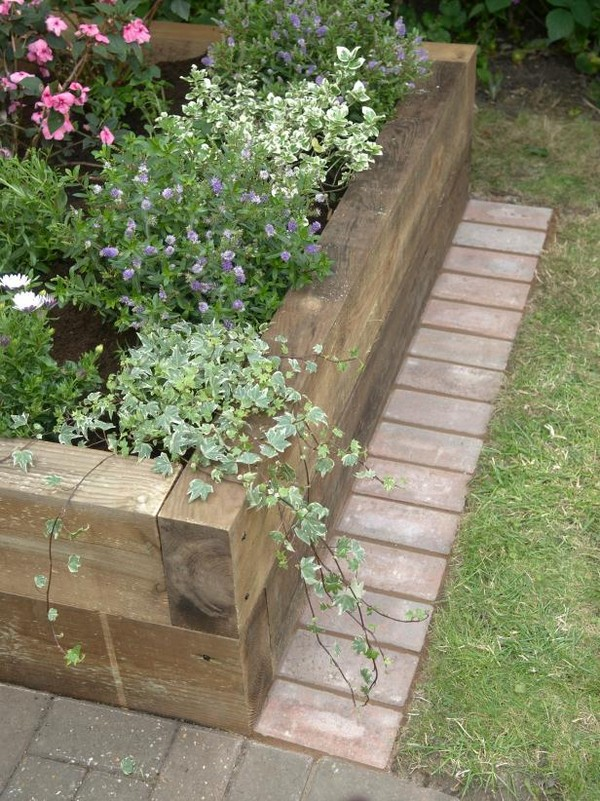 Garden Border Edging Ideas garden bed edging ideas woohome 3 Raised Beds Garden Edging Ideas