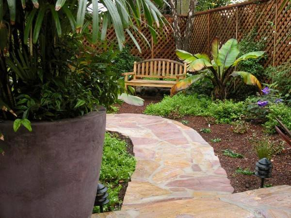 100 landscaping ideas for front yards and backyards for Simple small backyard ideas