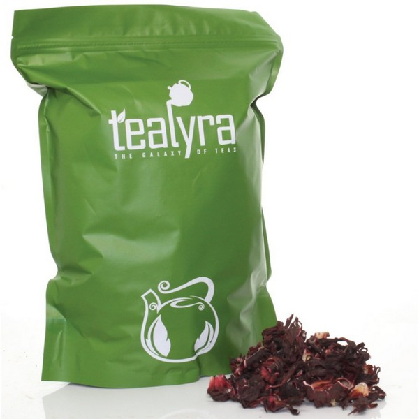 Tealyra Hibiscus Loose Leaf Herbal Tea
