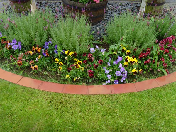 Plastic Garden Edging Ideas dekorra faux stone border edging garden edgingfaux stonelandscaping ideas backyard Creative Garden Edging Ideas
