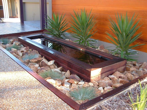41 inspiring garden water features with images planted well for Garden design features