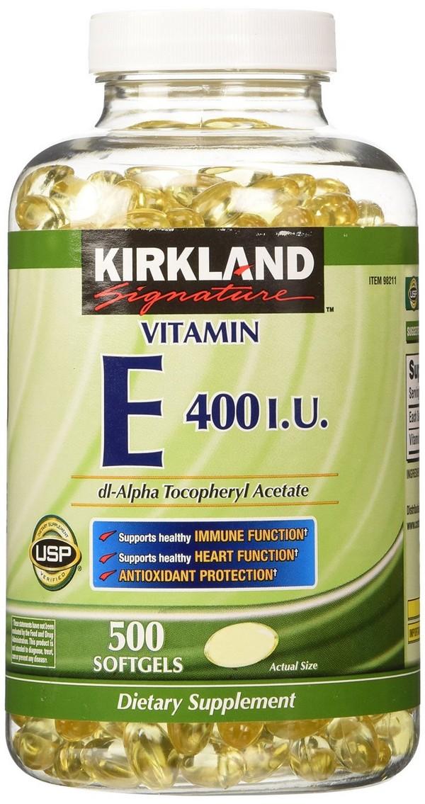 vitamin E tablets