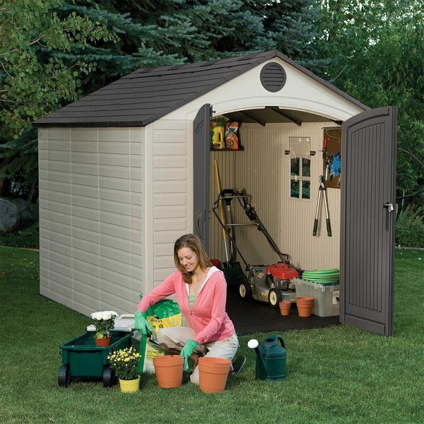Lifetime 6405 Outdoor Garden Shed