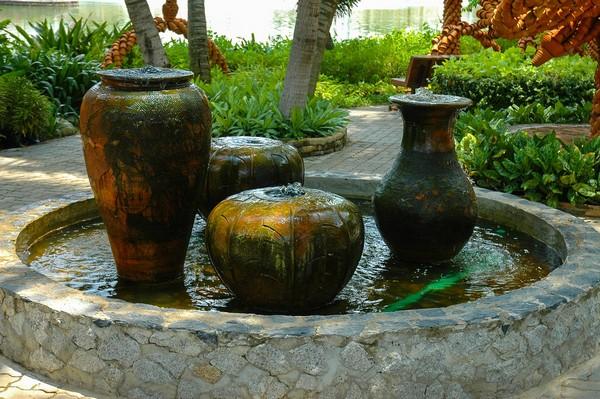 Outdoor Garden Water Features