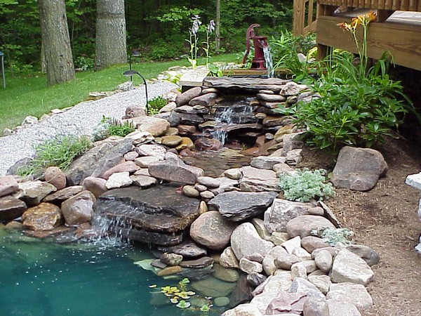 Awesome Water Feature. Outdoor Water Fountain