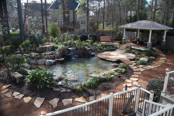 41 Inspiring Garden Water Features To