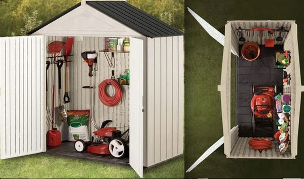 Charming Rubbermaid Big Max Junior Storage Shed