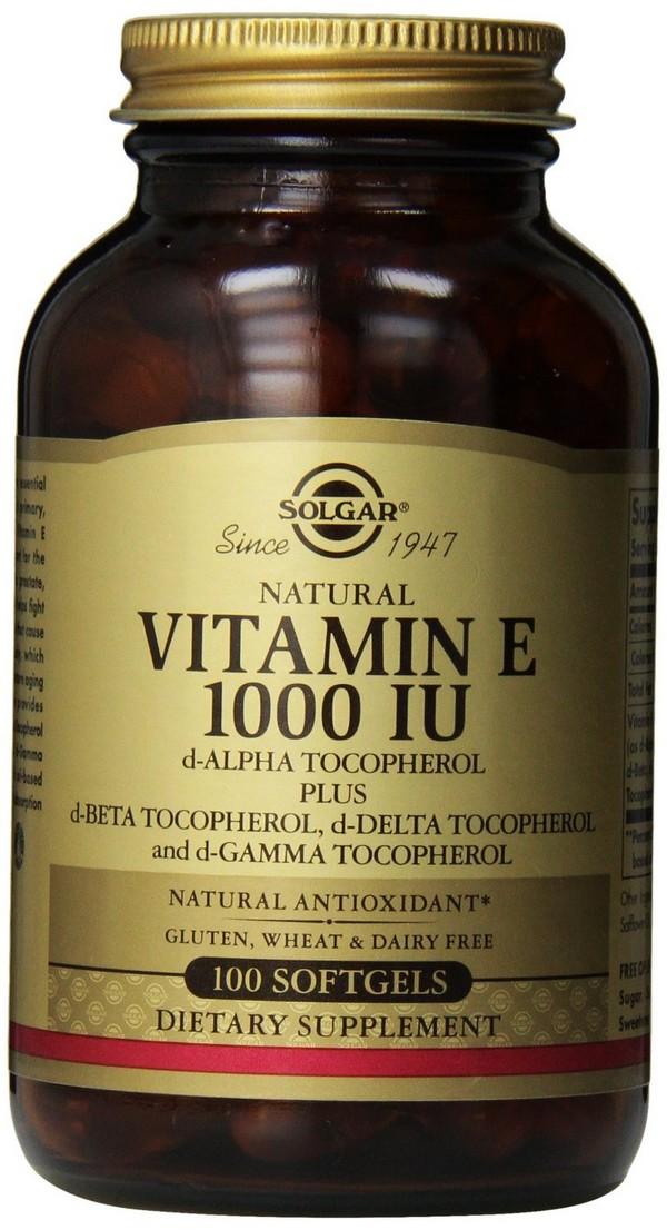 Solgar Vitamin E 1000 Iu
