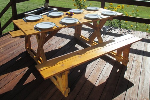 Cedar Picnic Bench Table Picnic Bench 16