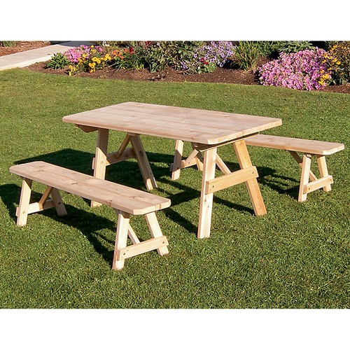 picnic done your outstanding diy outdoorlivingdecor table bench with and attractive right benches regarding impressive attached house ordinary for