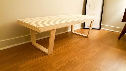 Cheap Wooden Bench