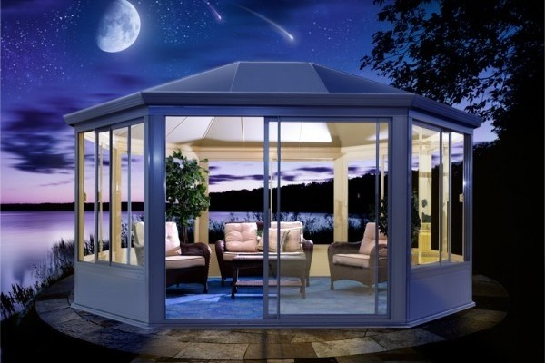 Beautiful Garden Gazebo Glass