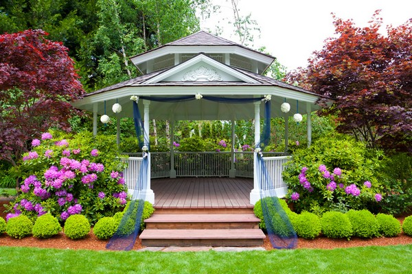 Large Elegant Gazebo