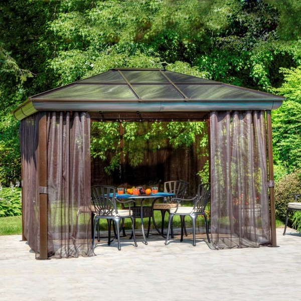 Modern Perfectly Finished Galaxy Gazebos: Gazebo Ideas: 40 Best Gazebos And Plans For Sale Reviewed