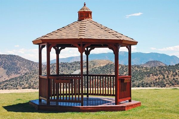 Redwood Gazebo