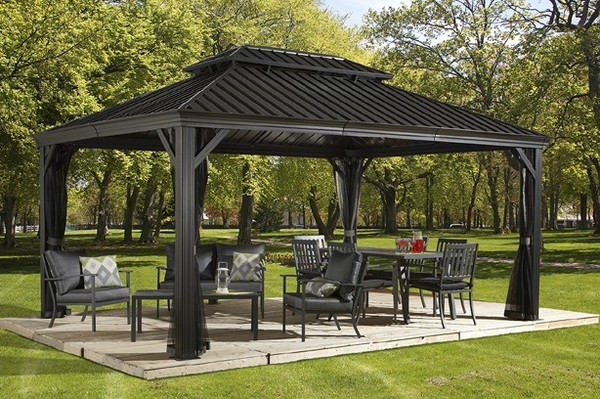 Sojag Messina Hard Top Gazebo