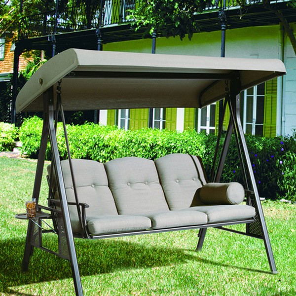 seats chair swinging patio swing hanging chairs seat ideas with wooden garden outdoor canopy swings furniture
