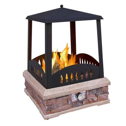 31 unique outdoor fireplace designs ideas and kits for Indoor fireplace kits