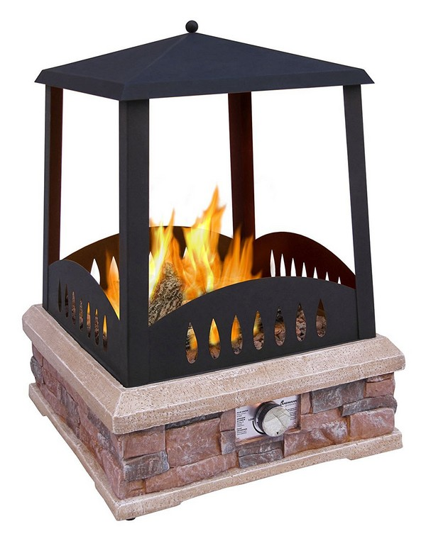 31 unique outdoor fireplace designs ideas and kits for Back to back indoor outdoor fireplace