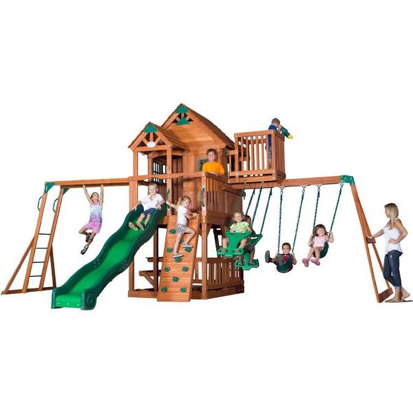 Backyard Discovery Skyfort Ii Garden Swing