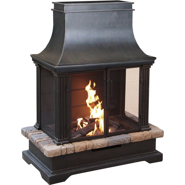 31 Unique Outdoor Fireplace Designs, Ideas and Kits ... on Cheap Diy Outdoor Fireplace id=76367