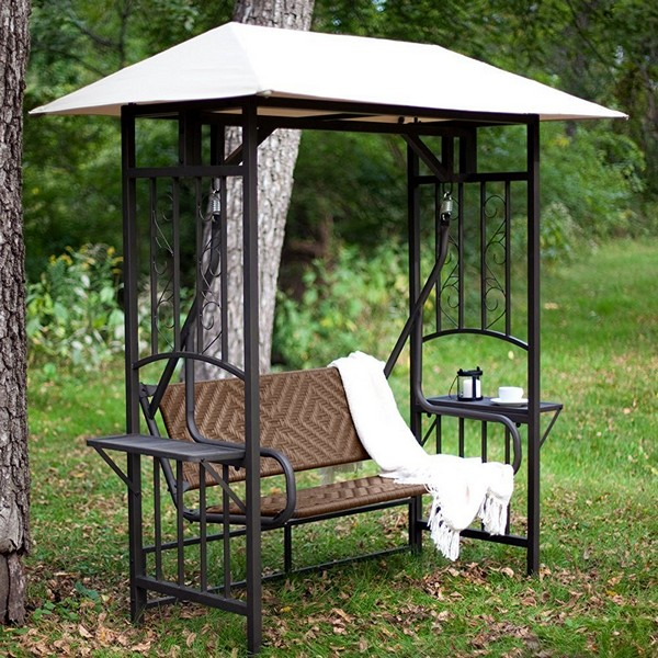 Coral Coast Bellora Garden Swing With Canopy