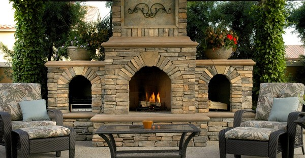 Outdoor Fireplace Ideas: Top 10 Outdoor Fireplace Kits ... on Diy Outdoor Fire id=89995