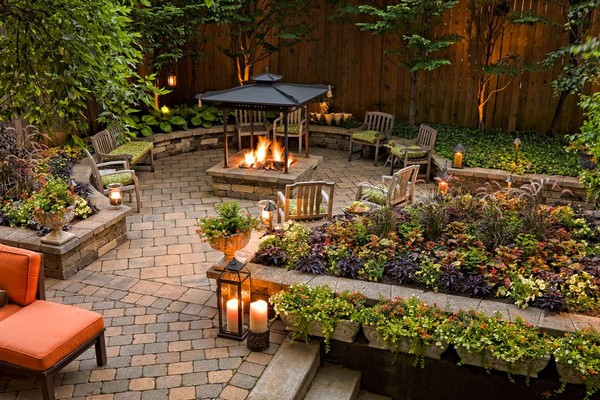 urban garden designs - Brown Garden Design