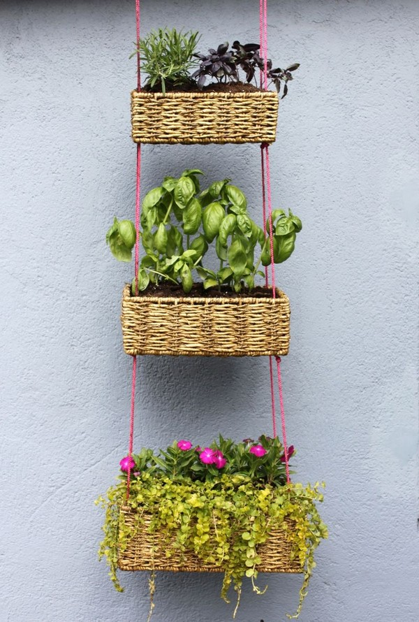 Vertical Gardening Hanging Baskets