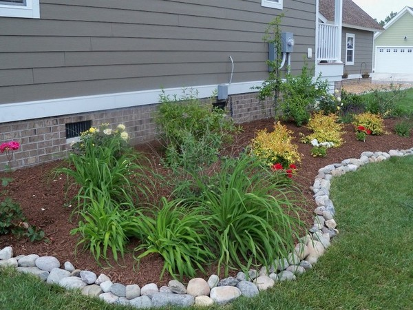 River Rock Design Ideas Landscaping Rocks
