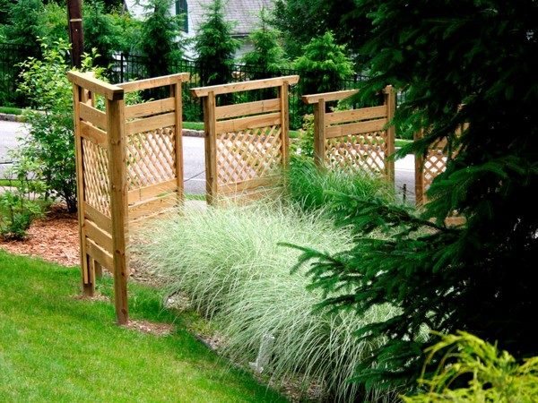 Landscaping Timber Fence