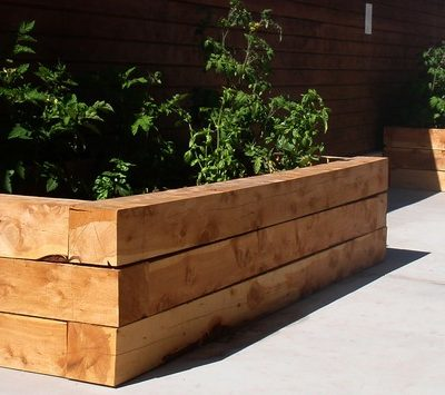 15 Unique Landscaping Timber Projects and Ideas