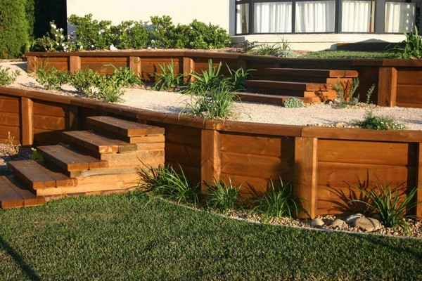 Retaining Wall Ideas. Landscaping Timbers On Sale