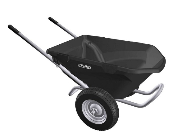 Lifetime 65034 Wheelbarrow Planter