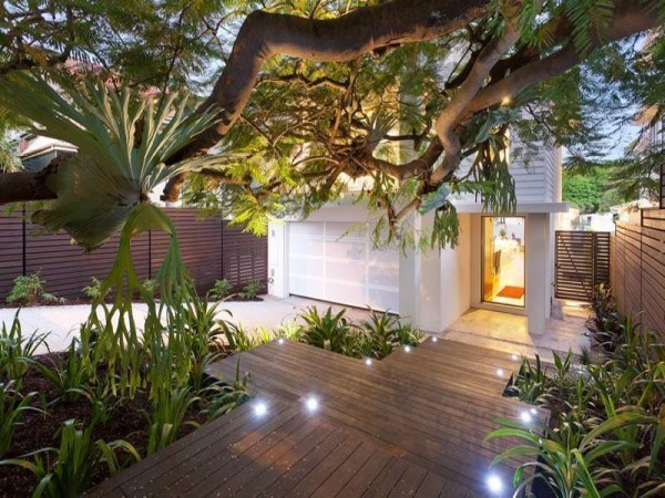 Lighted Garden Design